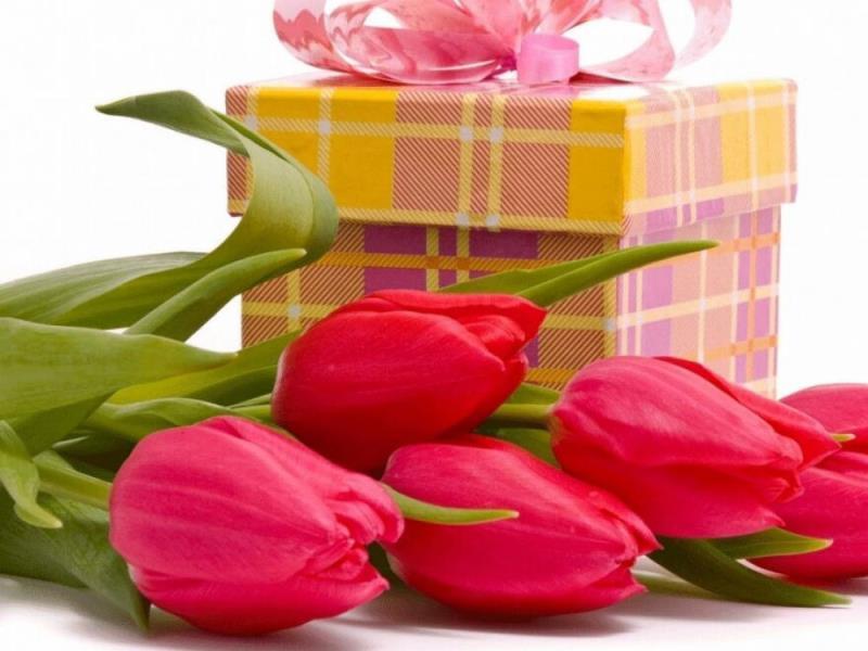 Лучший подарок к 8 марта