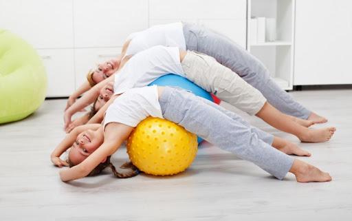 Детский фитнес как один из способов здоровьесбережения!